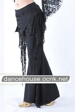 ベリーダンスパンツブラック