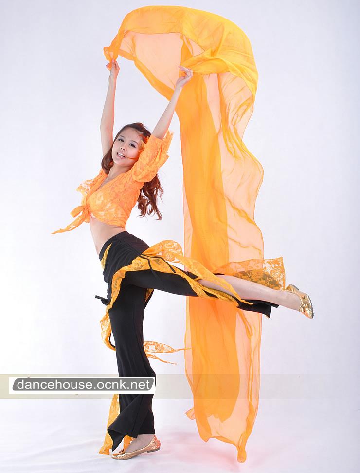 ベリーダンスパンツオレンジ